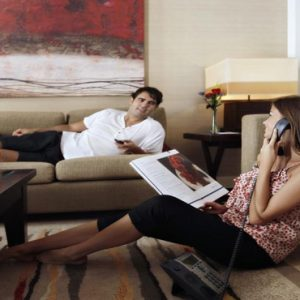 Luxury Dubai Holidays Amwaj Rotana In Room Dining