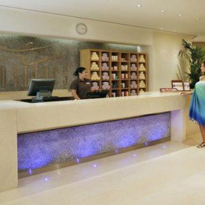 Luxury Dubai Holidays Amwaj Rotana Spa Reception