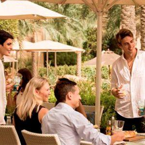 Luxury Dubai Holidays Fairmont The Palm Seagrill Bistro