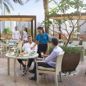 Luxury Dubai Holidays Fairmont The Palm Dining