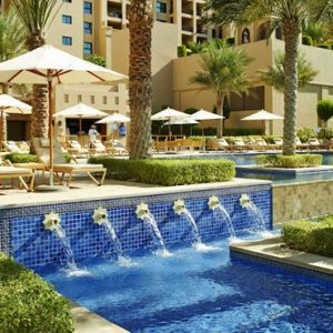 Luxury Dubai Holidays Fairmont The Palm Pool 2