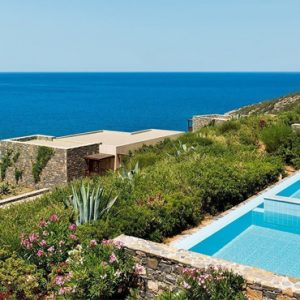 Luxury Greece Holidays Daios Cove Greece Deluxe Sea View With Individual Pool