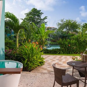 Luxury Grenada Holiday Packages Sandals Grenada Lover's Lagoon Hideaway Walkout Junior Suite With Balcony Tranquility Soaking Tub1
