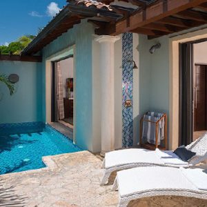 Luxury Grenada Holiday Packages Sandals Grenada South Seas One Bedroom Butler Villa With Infinity Edge Pool2