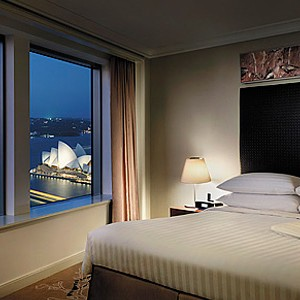 Luxury Holidays Australia - Shangri-La Hotel - Bedroom 1