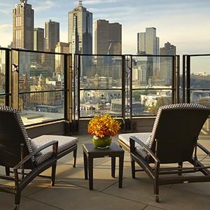 Luxury Holidays Australia - The Langham Melbourne - Terrace