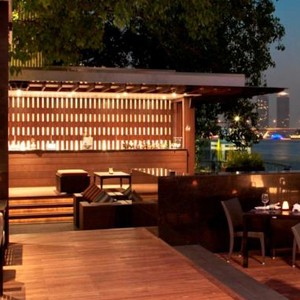 Luxury Holidays Bangkok - Royal Orchard Sheraton - Outdoor Dining