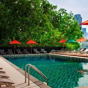 Luxury Holidays Bangkok - Royal Orchard Sheraton - Pool