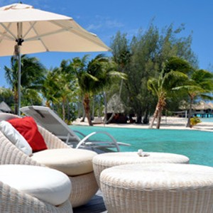 Luxury Holidays Bora Bora - Le Meridien - Pool