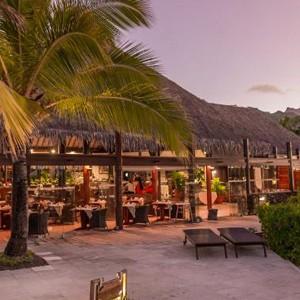 Luxury Holidays Bora Bora - Pearl Beach Resort - Dining Exterior