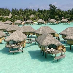 Luxury Holidays Bora Bora - Pearl Beach Resort - Huts