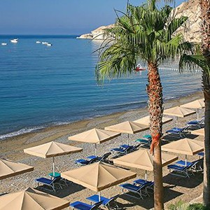 Luxury Holidays Cyprus - Columbia Beach Hotel Pissouri - beach 2