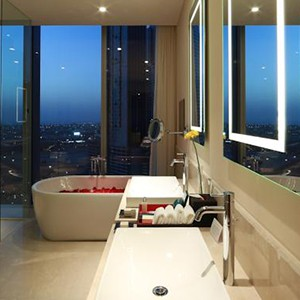 Luxury Holidays Dubai - The Oberoi, Dubai - Pure Destinations - Bathroom
