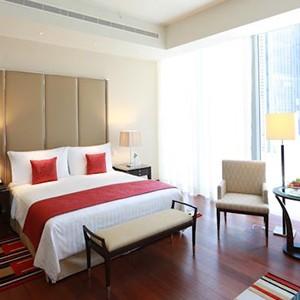Luxury Holidays Dubai - The Oberoi, Dubai - Pure Destinations - Bedroom