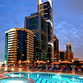 Luxury Holidays Dubai - Towers Rotana - Exterior