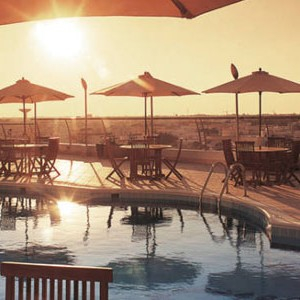 Luxury Holidays Dubai - Towers Rotana - Sunset