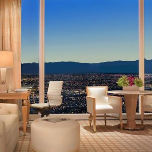 Luxury Holidays Las Vegas- The Wynn Hotel - Bedroom Interior