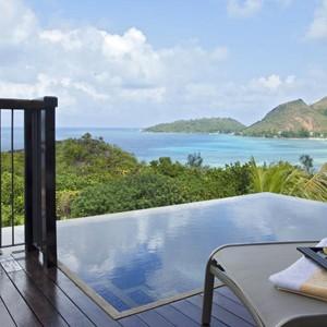 Luxury - Holidays - Seychelles - Raffles Praslin - Balcony View