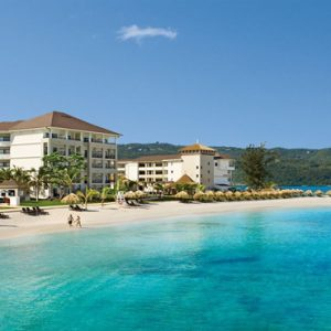 Luxury Jamaica Holiday Packages Secrets Wild Orchid Montego Bay Aerial View Of Beach