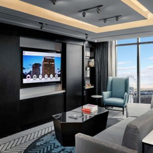 Luxury Las Vegas Holiday Packages Cosmopolitan Las Vegas Reception Suite 2