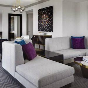 Luxury Las Vegas Holiday Packages Cosmopolitan Las Vegas Wrap Around Terrace Fountain View