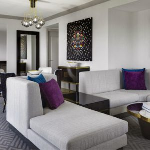 Luxury Las Vegas Holiday Packages Cosmopolitan Las Vegas Wrap Around Terrace Suite