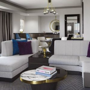 Luxury Las Vegas Holiday Packages Cosmopolitan Las Vegas Wrap Around Terrace Suite 2