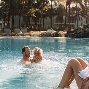 Luxury Mauritius Holiday Packages Canonnier Beachcomber Resort Golf Resort And Spa Family 2