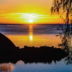 Luxury Mauritius Holiday Packages Canonnier Beachcomber Resort Golf Resort And Spa Sunset