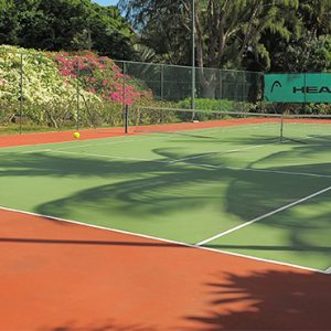 Luxury Mauritius Holiday Packages Canonnier Beachcomber Resort Golf Resort And Spa Tennis