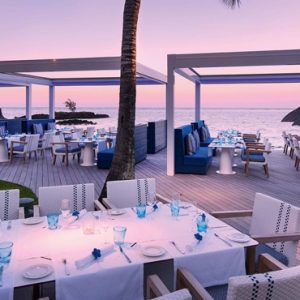 Luxury Mauritius Holiday Packages Constance Belle Mare Plage Indigo Resturant