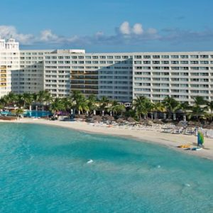 Luxury Mexico Holiday Packages Dreams Sands Cancun Resort And Spa Aerial View Of Resort