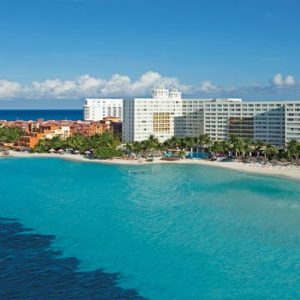 Luxury Mexico Holiday Packages Dreams Sands Cancun Resort And Spa Aerial View Of Resort1