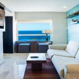 Luxury Mexico Holiday Packages Dreams Sands Cancun Resort And Spa Preferred Club Ocean Front Corner Suite2