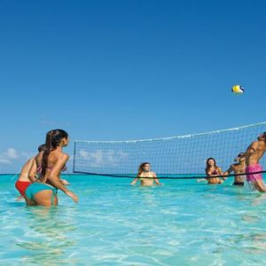 Luxury Mexico Holiday Packages Dreams Sands Cancun Resort And Spa Water Volleyball