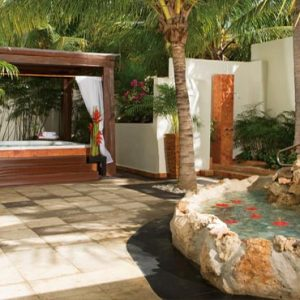 Luxury Mexico Holiday Packages Dreams Sands Cancun Resort And Spa Spa Terrace