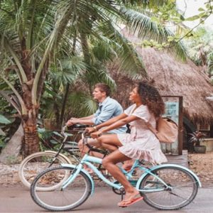 Luxury Mexico Holiday Packages Hard Rock Hotel Riviera Maya Bike Tour