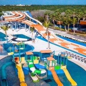 Luxury Mexico Holiday Packages Hard Rock Hotel Riviera Maya Rockaway Bay Waterpark Aerial View