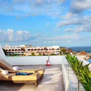 Luxury Mexico Holiday Packages Hard Rock Hotel Riviera Maya Rock Suite Platinum Rooftop Lounge 4