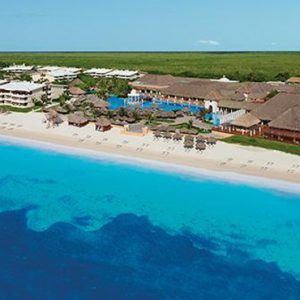 Luxury Mexico Holiday Packages Now Sapphire Riviera Cancun Aerial View