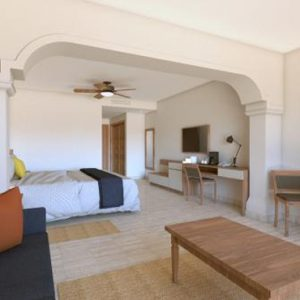 Luxury Mexico Holiday Packages Now Sapphire Riviera Cancun Family Junior Suite Tropical View 2