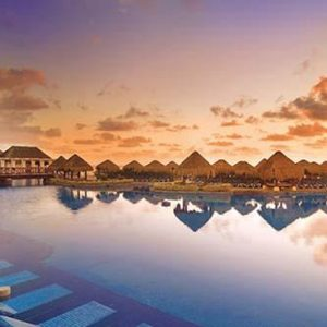Luxury Mexico Holiday Packages Now Sapphire Riviera Cancun Pool At Sunrise