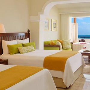 Luxury Mexico Holiday Packages Now Sapphire Riviera Cancun Preferred Club Junior Suite Ocean Front View 2