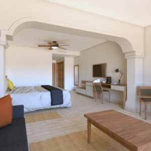 Luxury Mexico Holiday Packages Now Sapphire Riviera Cancun Preferred Club Junior Suite Tropical View 2