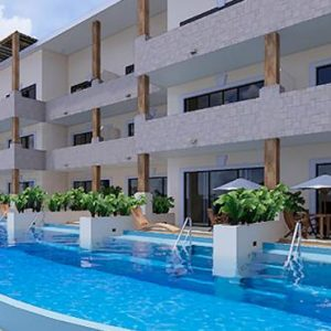 Luxury Mexico Holiday Packages Now Sapphire Riviera Cancun Preferred Club Master Suite Beach Front Swim Out 2