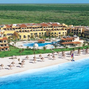 Luxury Mexico Holiday Packages Secrets Capri Riviera Cancun Exterior 3