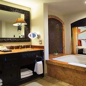Luxury Mexico Holiday Packages Secrets Maroma Beach Riviera Cancun Junior Suite Tropical View Bathroom