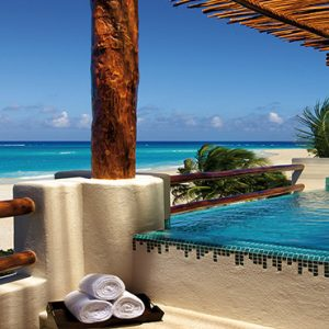 Luxury Mexico Holiday Packages Secrets Maroma Beach Riviera Cancun Preferred Club Honeymoon Suite Jacuzzi