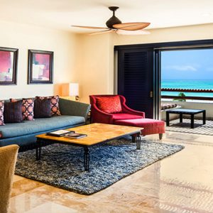Luxury Mexico Holiday Packages Secrets Maroma Beach Riviera Cancun Preferred Club Honeymoon Suite Living Room