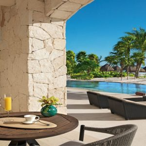 Luxury Mexico Holiday Packages Secrets Maroma Beach Riviera Cancun Secrets Maroma Beach Presidential Suite Swim Out2